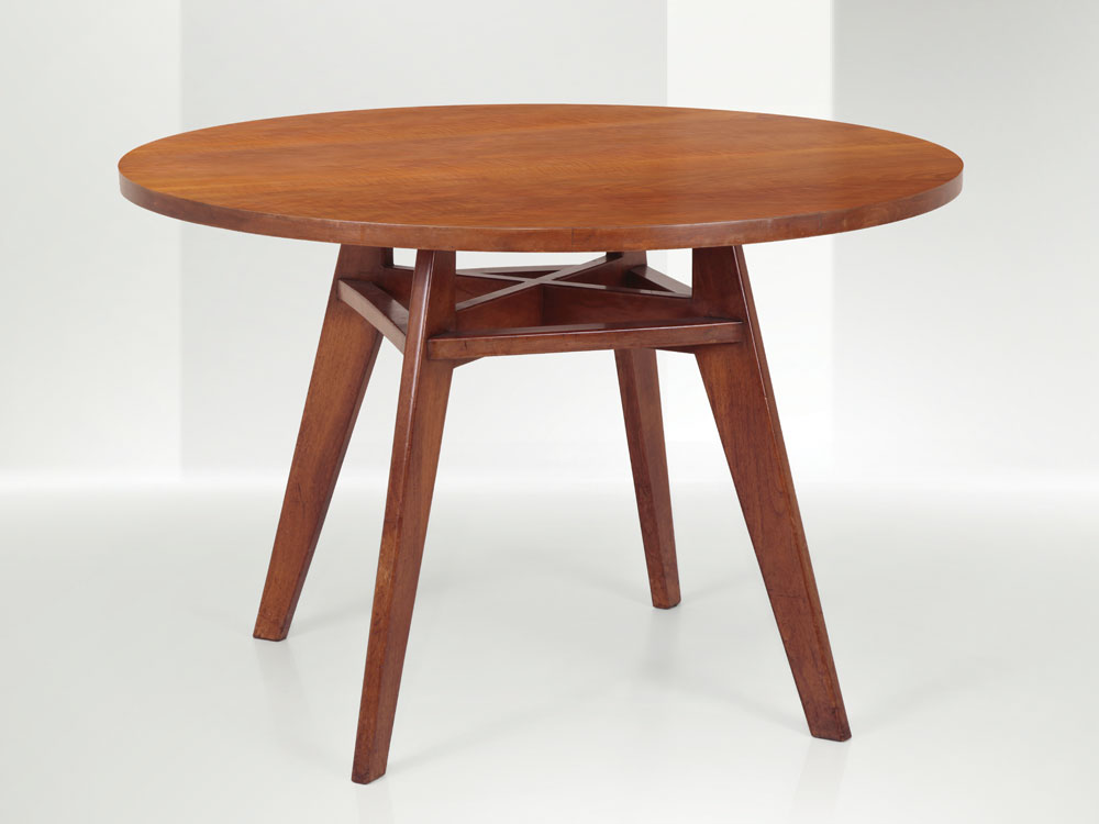 Franco Albini - Dining table with wooden structure and top