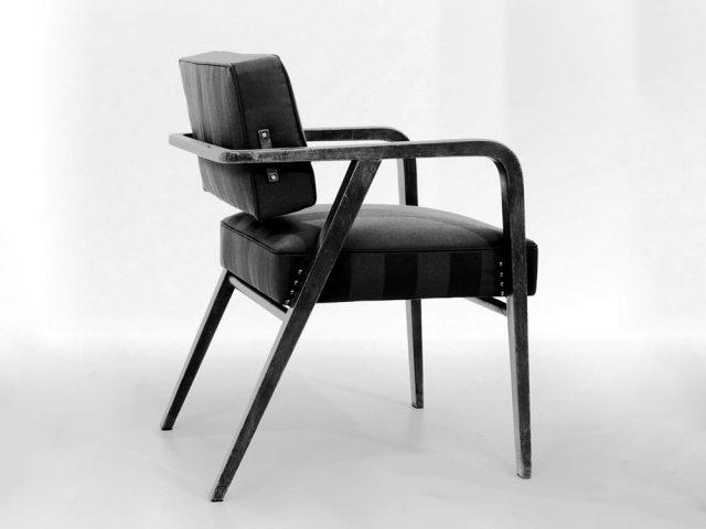 Foto d'epoca sedia Franco Albini
