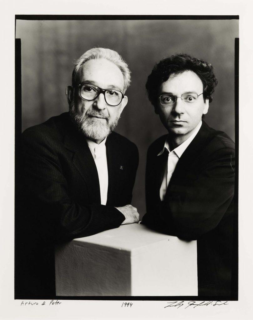 Arturo Schwarz e Peter