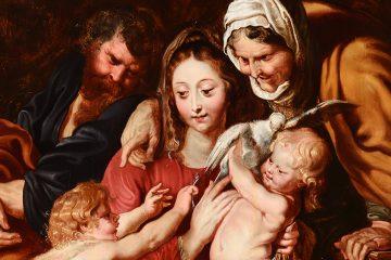 Peter Paul Rubens – Holy Family