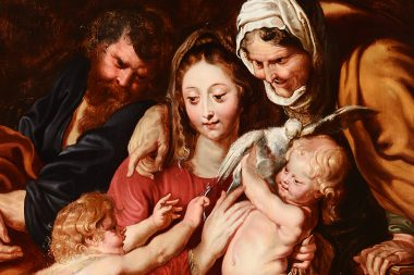 Peter Paul Rubens – Holy Family