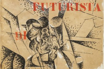 Boccioni | Copertina per Musica Futurista