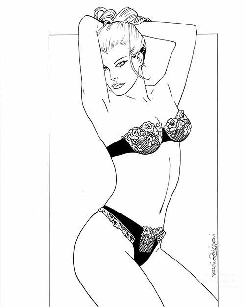 illustrazione erotica