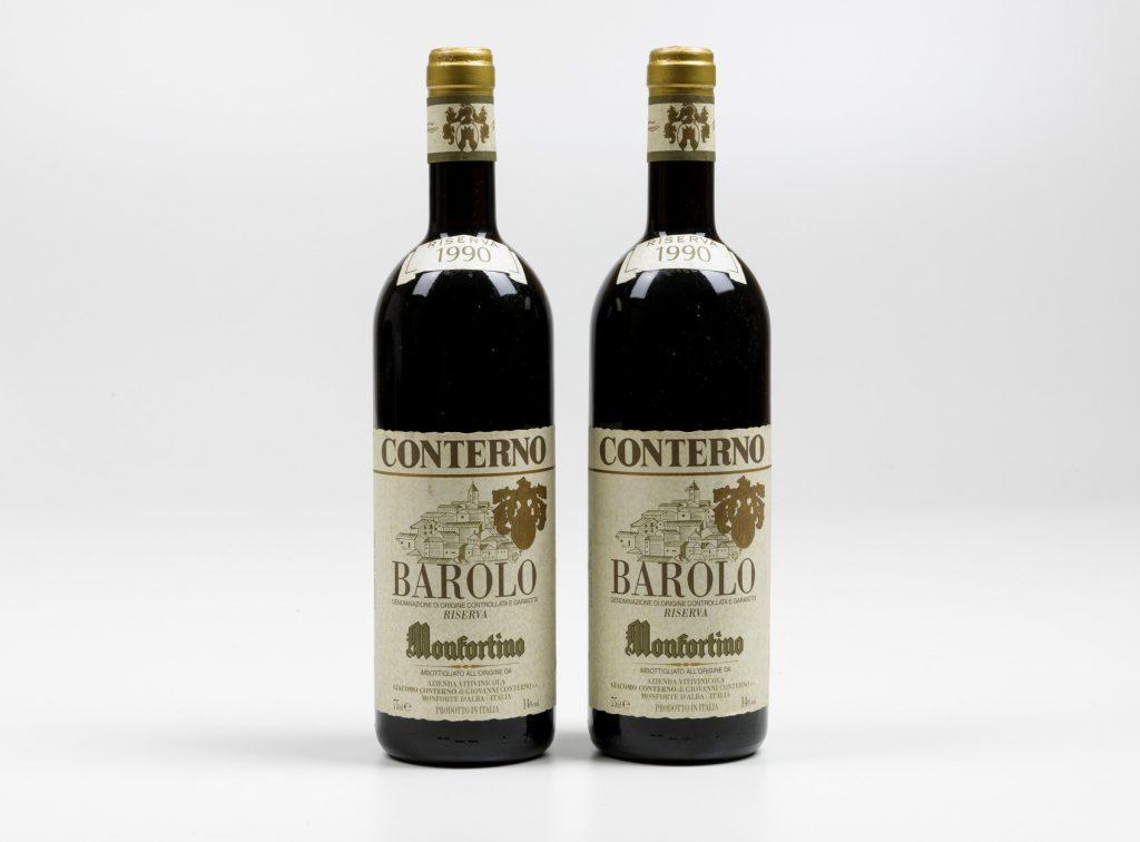 Giacomo Conterno, Barolo Monfortino Riserva - (2 Bts) 1990. 2 Bts BN