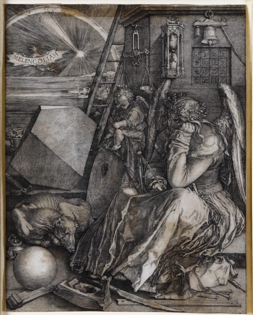 Albrecht Durer (Norimberga 1471-1528) Melancolia I (1514) mm 240 x 188.