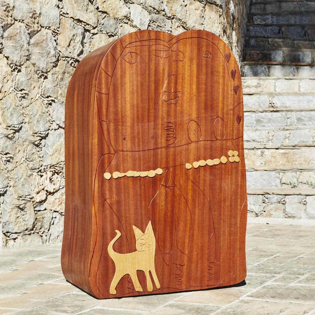 UNBUILT, Le couple au chat by Sarah Tritz - CTMP DESIGN AUCTION